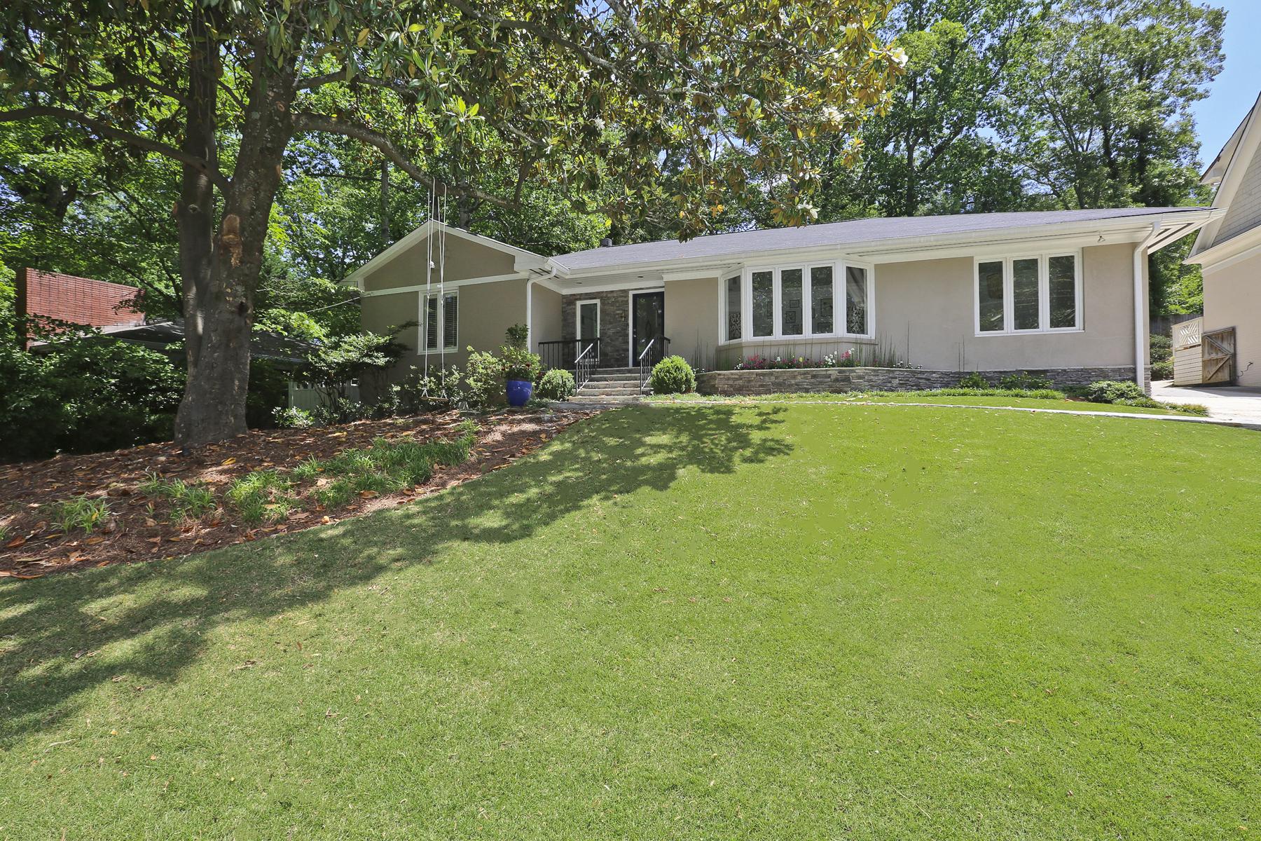Moradia para Venda às Impeccable Totally Renovated Home In Morningside 1715 Wildwood Road NE Morningside, Atlanta, Geórgia, 30306 Estados Unidos