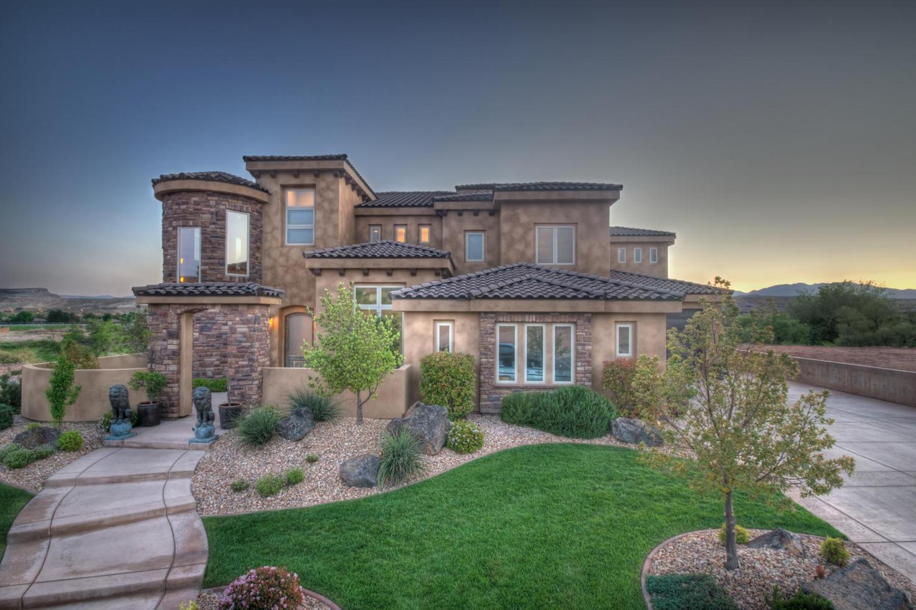 Nhà ở một gia đình vì Bán tại Stunning home on Sunbrook Golf Course 411 N North Star Dr St. George, Utah 84770 Hoa Kỳ