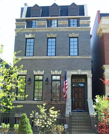 Maison unifamiliale pour l Vente à Amazing Lakeview Home 1323 W Melrose Street Lakeview, Chicago, Illinois, 60657 États-Unis