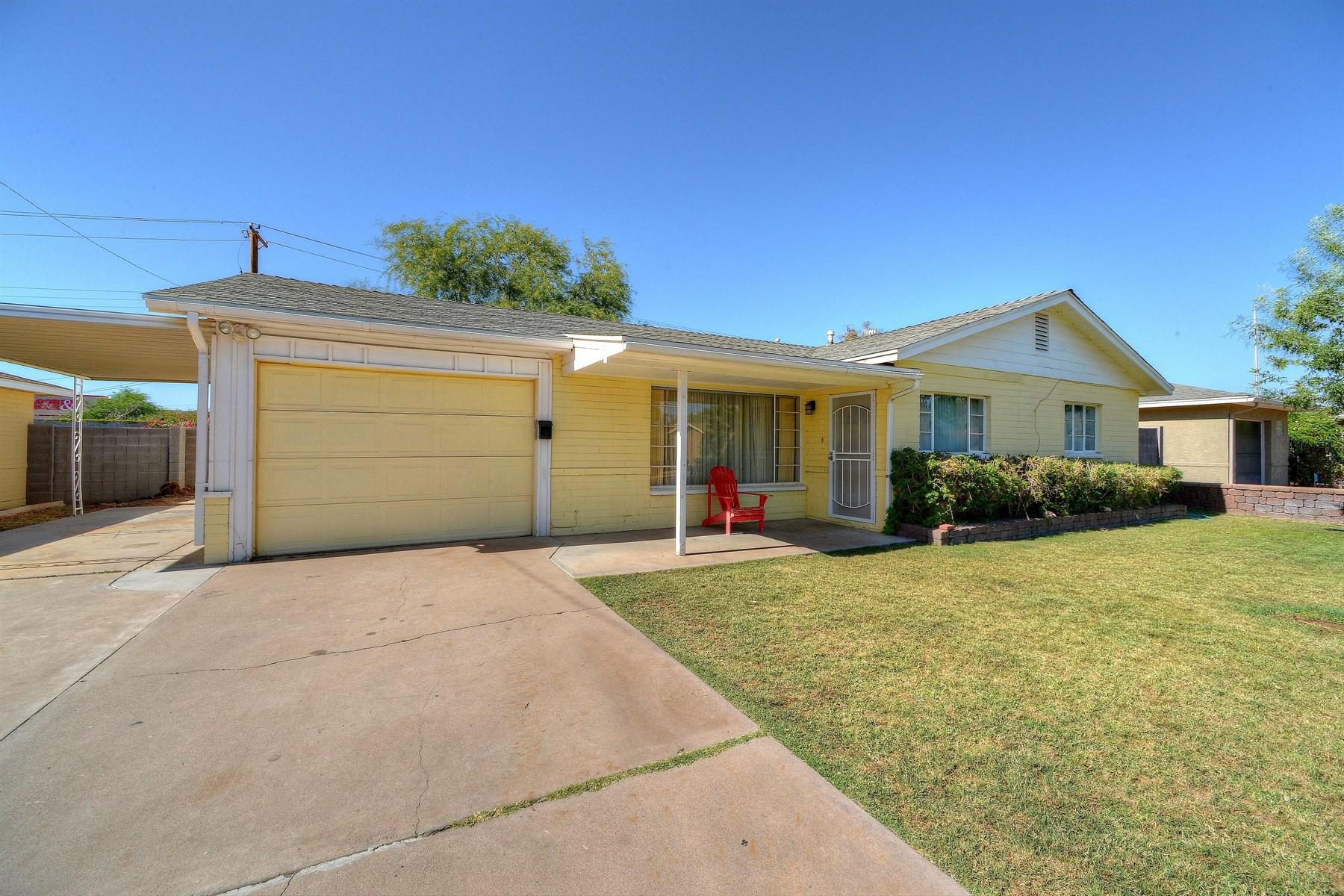 独户住宅 为 销售 在 Lovely home in Highland Estates 1838 E Coolidge St 菲尼克斯(凤凰城), 亚利桑那州, 85016 美国