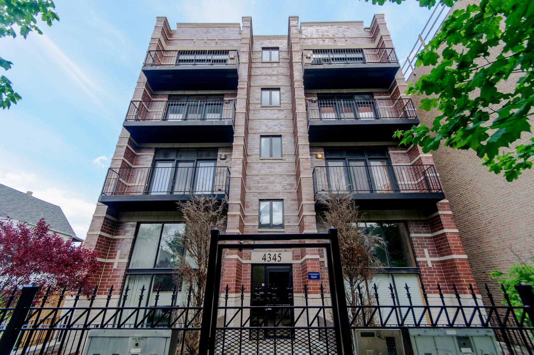 단독 가정 주택 용 매매 에 Stunning Penthouse 4345 S Indiana Avenue Unit 4N Chicago, 일리노이즈, 60653 미국