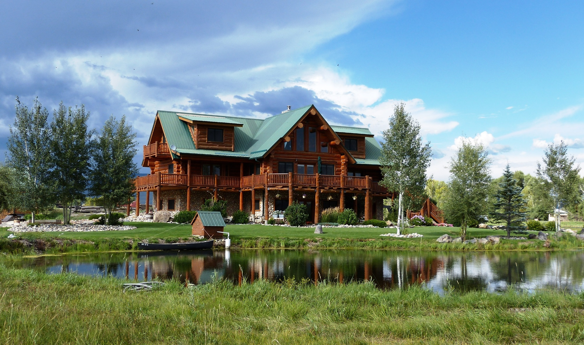 Single Family Home for Sale at Been Dreaming of A Log Home 65 Chekwa Trail Gunnison, Colorado 81230 United States