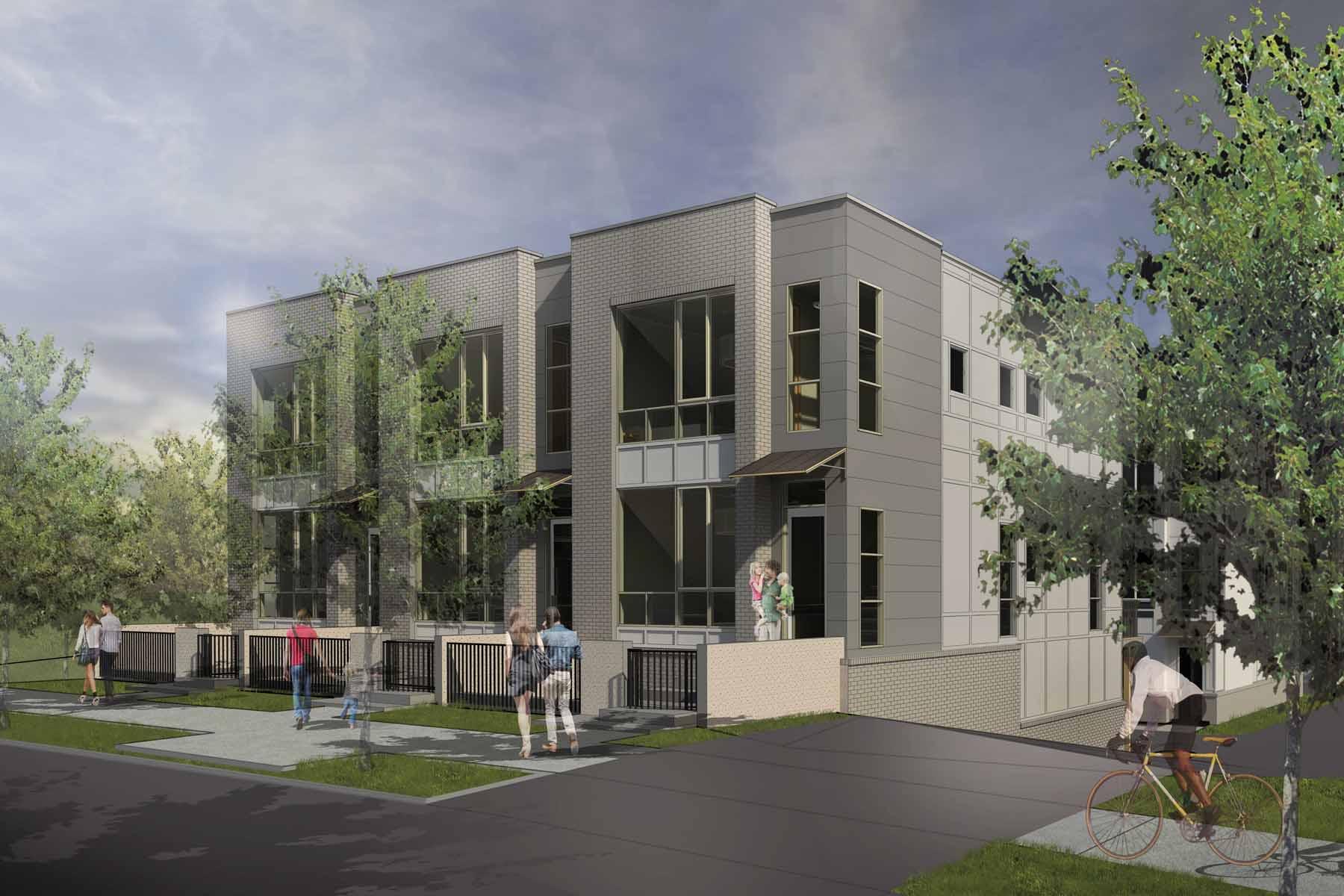 タウンハウス のために 売買 アット Modern Townhome Community 1463 La France Street, 2A Edgewood, Atlanta, ジョージア, 30307 アメリカ合衆国