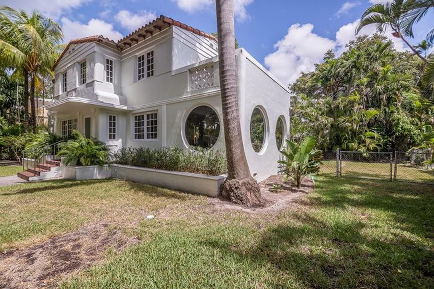 단독 가정 주택 용 매매 에 611 Camilo Ave Coral Gables, 플로리다 33134 미국