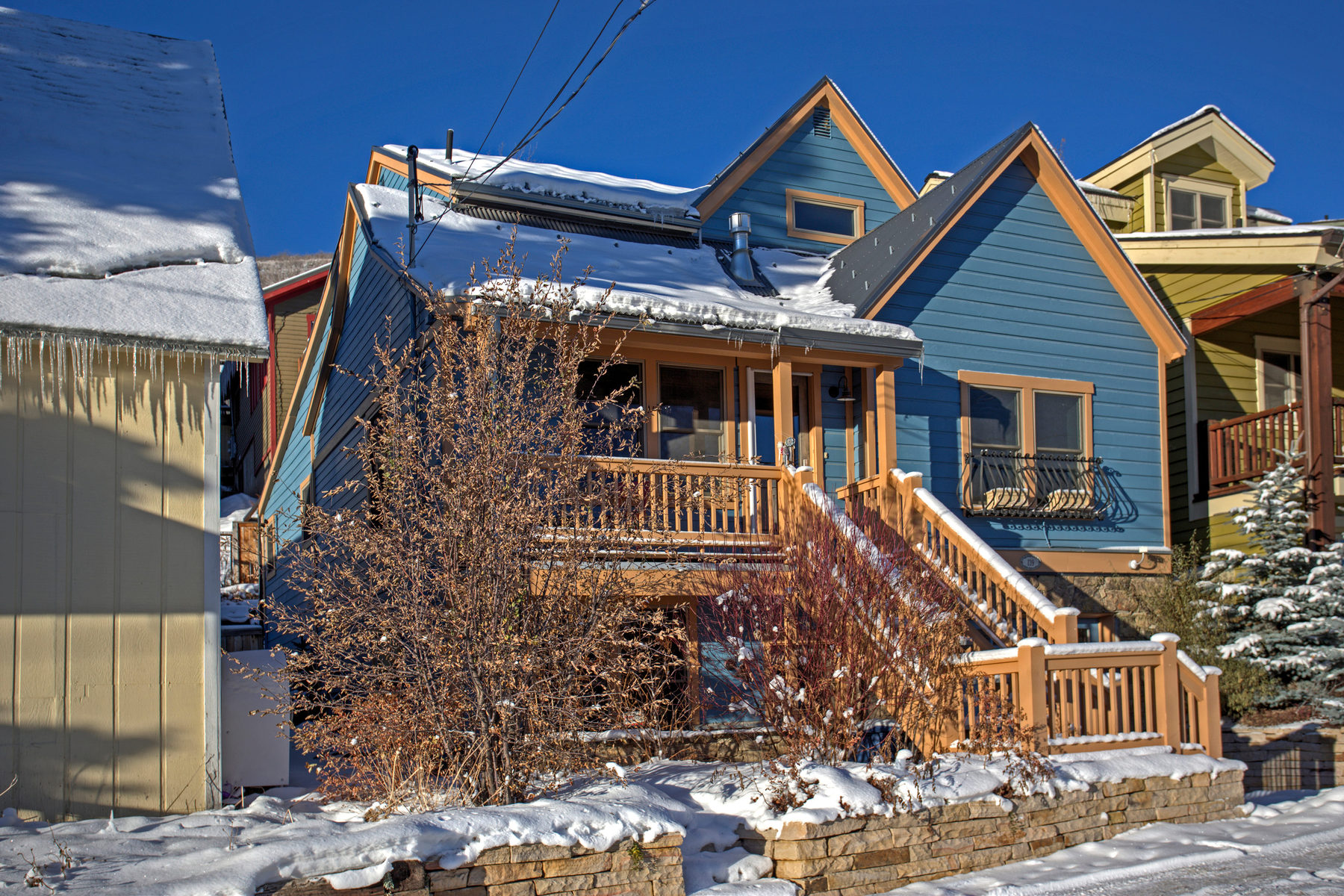 Single Family Home for Sale at Historic Meets Modern 139 Woodside Ave Park City, Utah 84060 United States