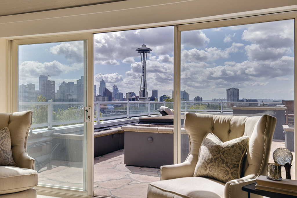 Condominium for Sale at Signature Place Penthouse 801 2nd Ave N #401 Seattle, Washington 98109 United States