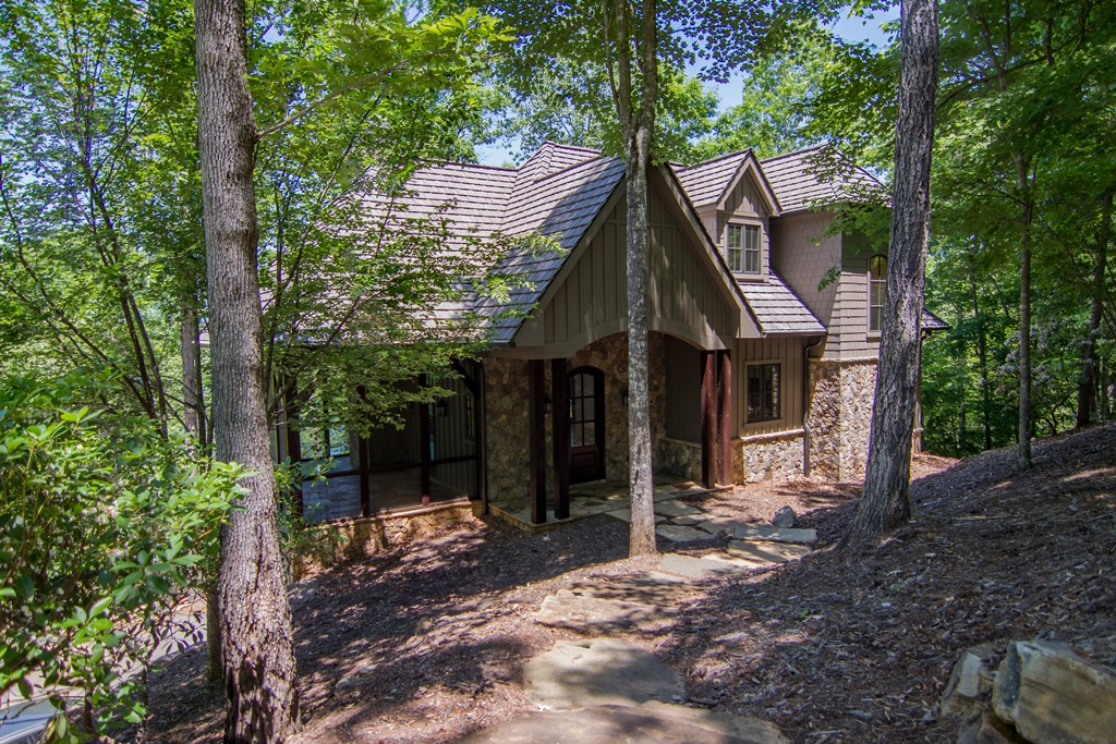 Single Family Home for Sale at Craftsman Style Waterfront Home with Impressive Lake & Mountain Views 207 Coldwater Drive The Reserve At Lake Keowee, Sunset, South Carolina 29685 United States