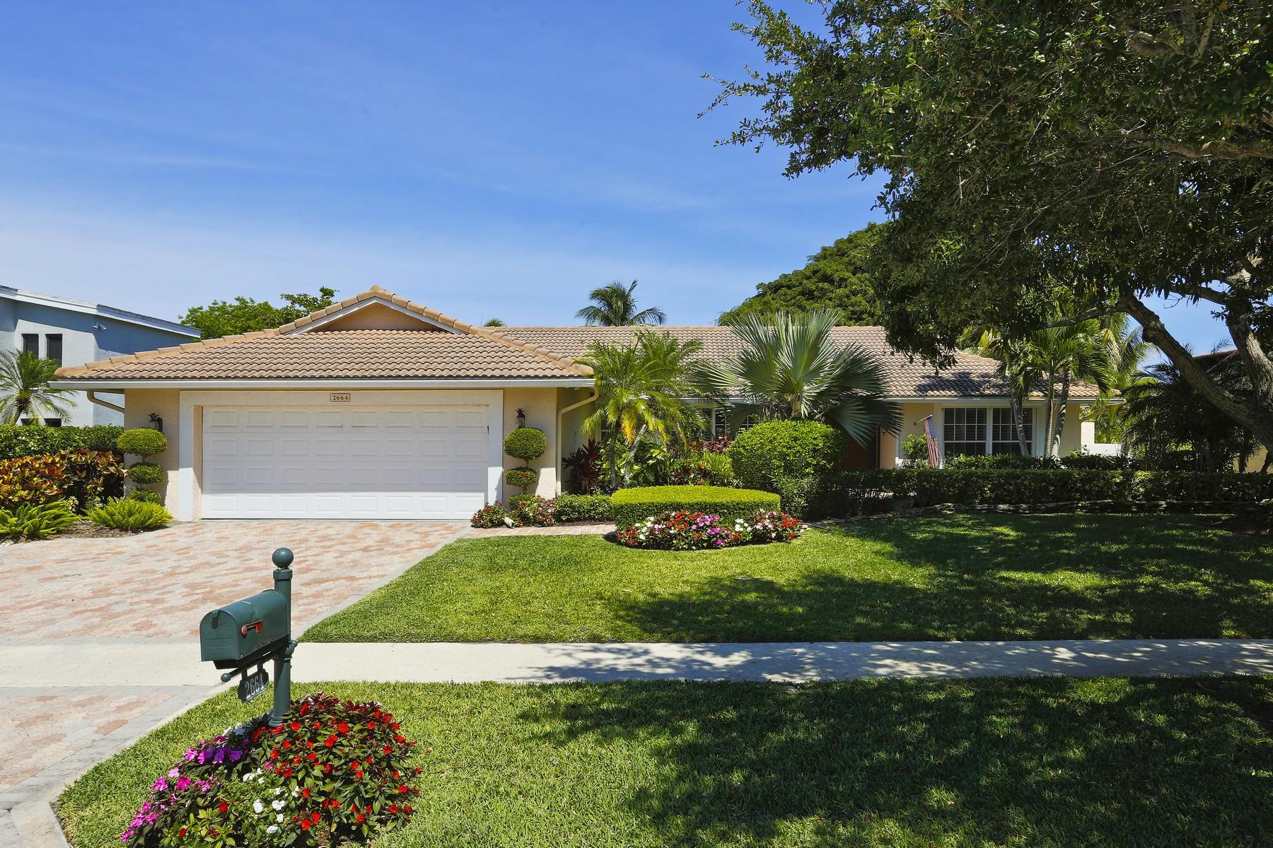 獨棟家庭住宅 為 出售 在 2664 NW 23rd Way , Boca Raton, FL 33431 Boca Raton, 佛羅里達州 33431 美國
