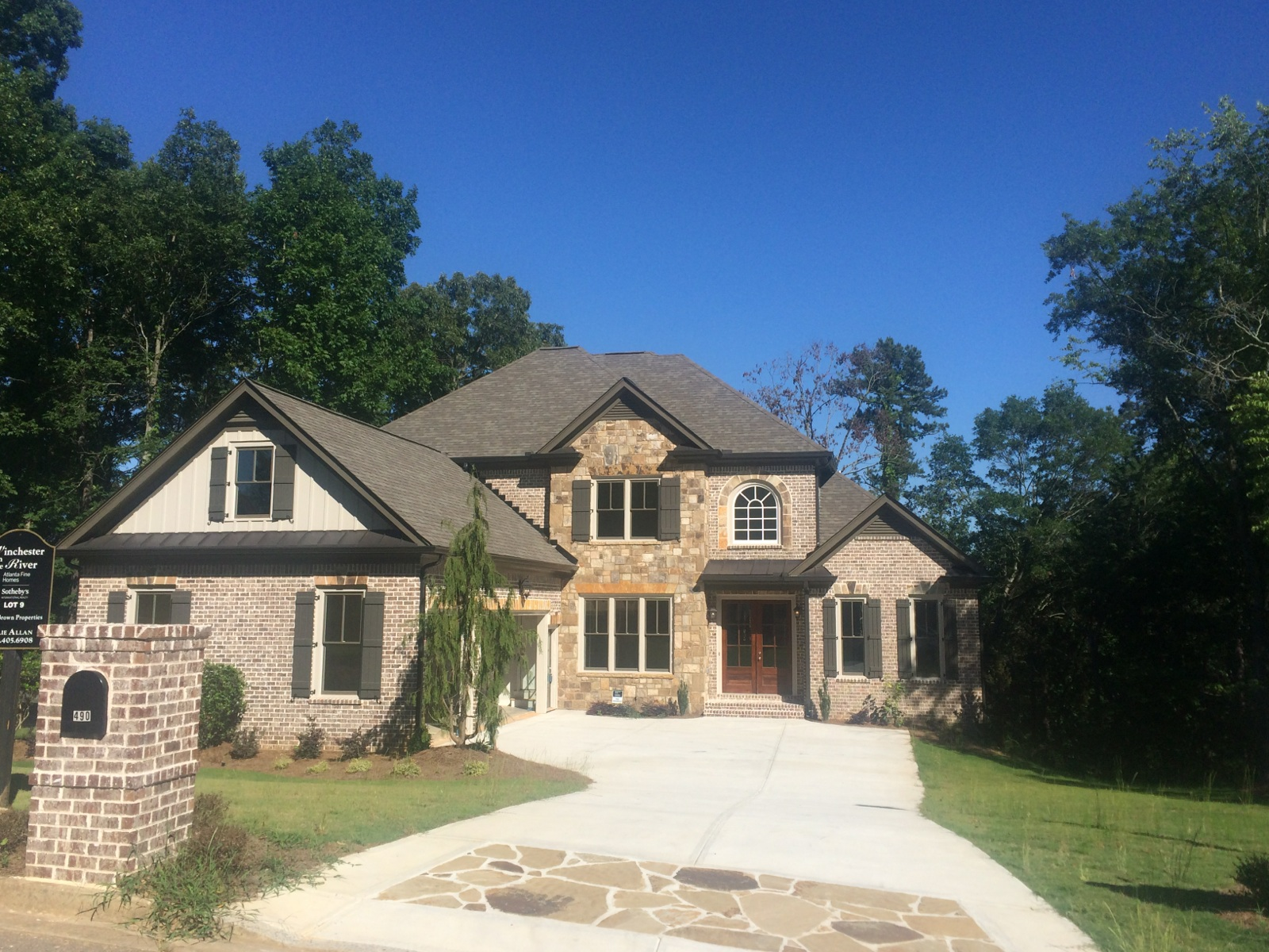 Single Family Home for Sale at New Construction in Lambert High School District 490 Overlook Mountain Drive Suwanee, Georgia, 30024 United States