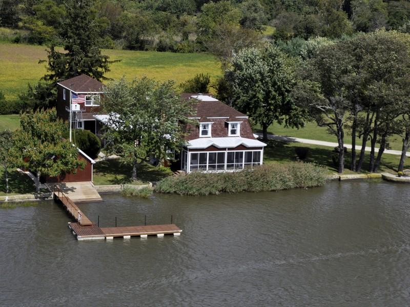 Casa Unifamiliar por un Venta en Turning Tides 66 Pease Lane Hopewell Township, Nueva Jersey 08302 Estados Unidos