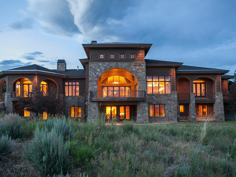단독 가정 주택 용 매매 에 Aspen Crest Manor—the Epitome of Luxury 7501 N Promontory Ranch Rd Park City, 유타 84098 미국