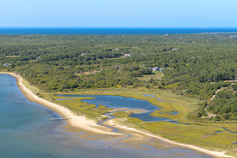 Single Family Home for Sale at Chappy Vacation Escape on Martha's Vineyard 15 Maqua Way Edgartown, Massachusetts, 03539 United States