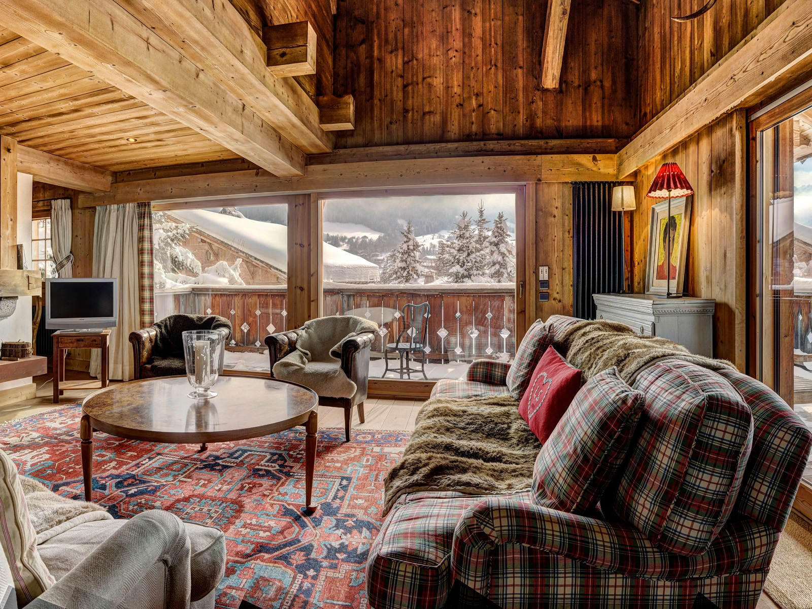 Single Family Home for Sale at Chalet Mocka Megeve, Rhone-Alpes 74120 France