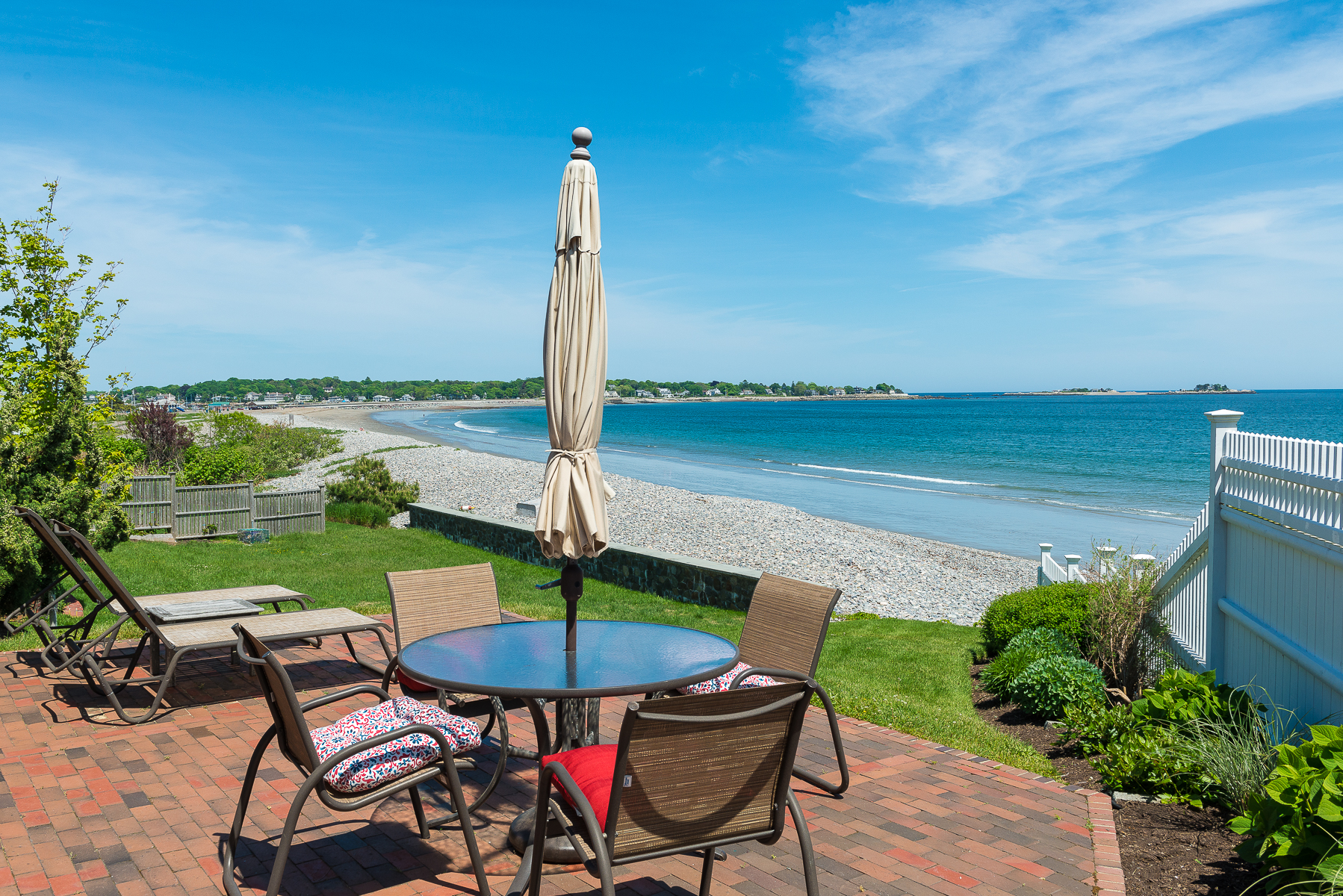 Single Family Home for Sale at Perfect Marblehead Beach House 46 Gallison Avenue Marblehead, Massachusetts 01945 United States
