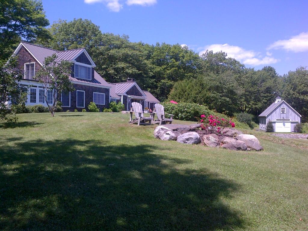 Casa para uma família para Venda às Dodge Mountain 1 Bird Lane aka 7 Dodge Mountain Road Rockland, Maine 04841 Estados Unidos