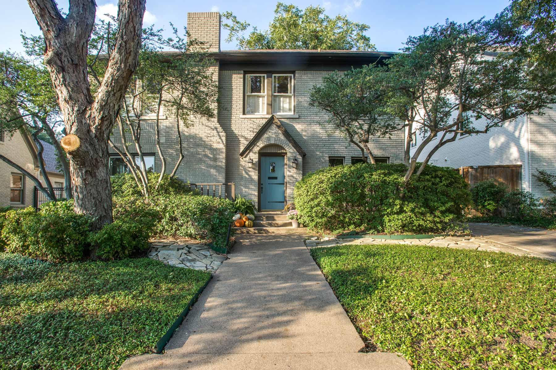 Maison unifamiliale pour l Vente à Charming University Park Home 3520 McFarlin Boulevard Dallas, Texas 75205 États-Unis