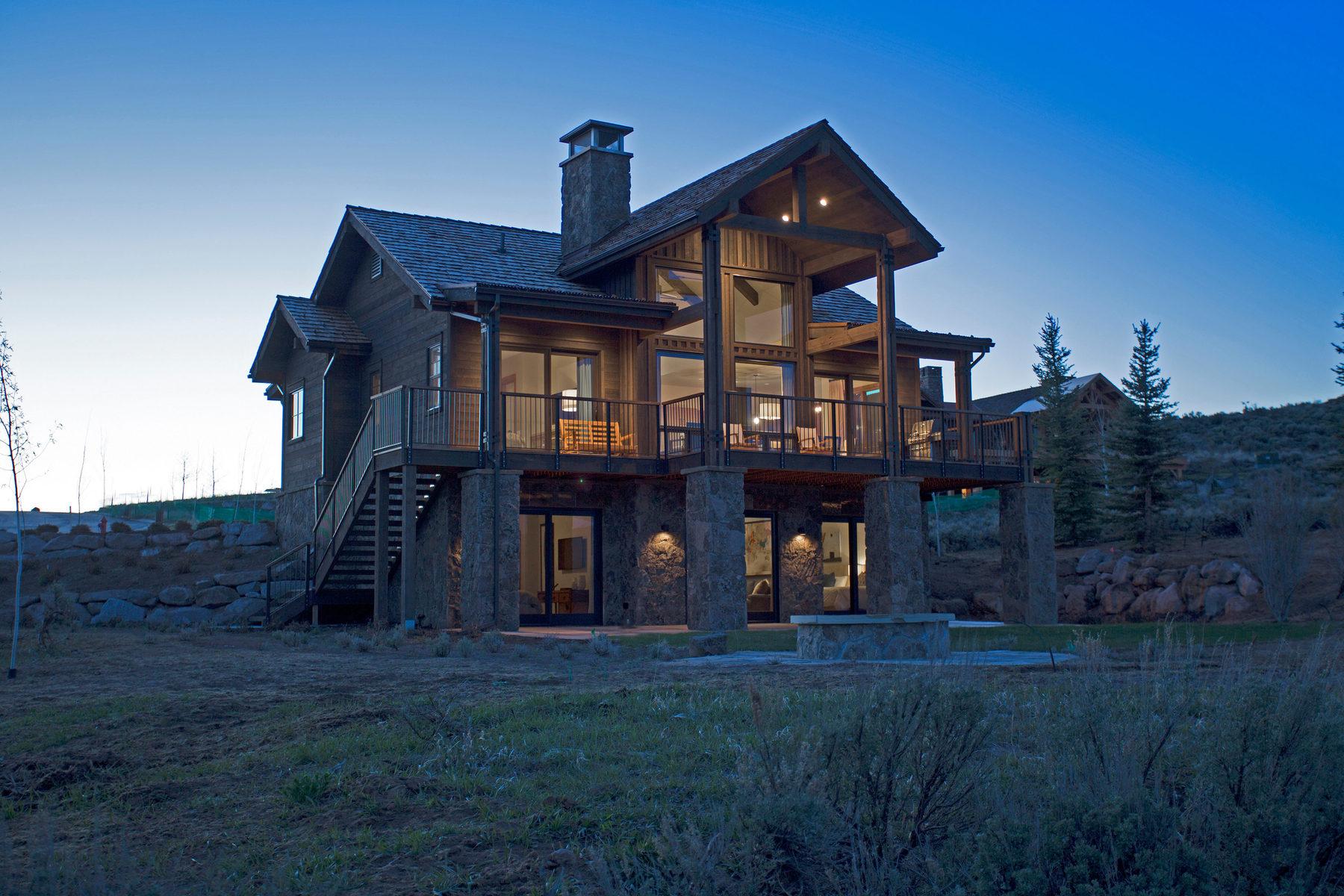 Maison unifamiliale pour l Vente à Willow Cabin with Spectacular Views 6769 Riparian Circle Heber City, Utah 84032 États-Unis