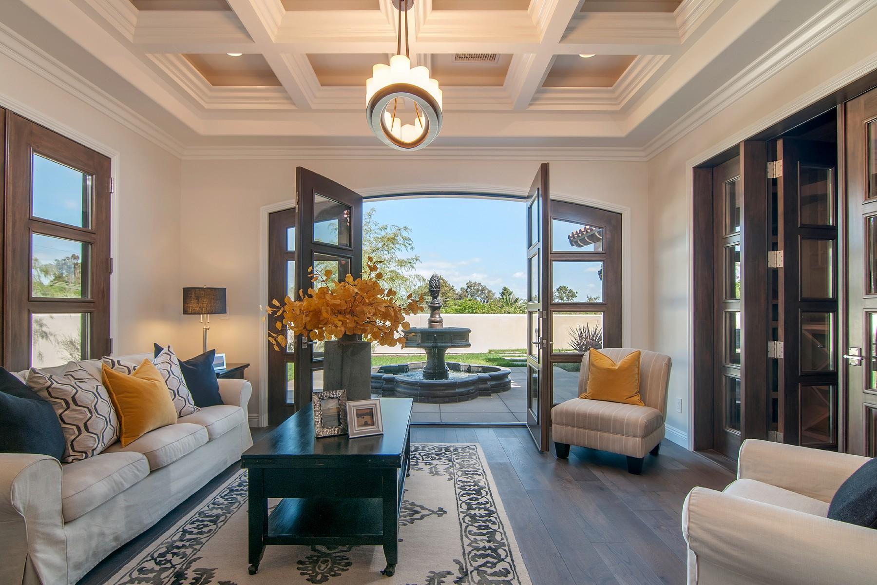 Casa Unifamiliar por un Venta en 17144 Via De La Valle Rancho Santa Fe, California 92067 Estados Unidos