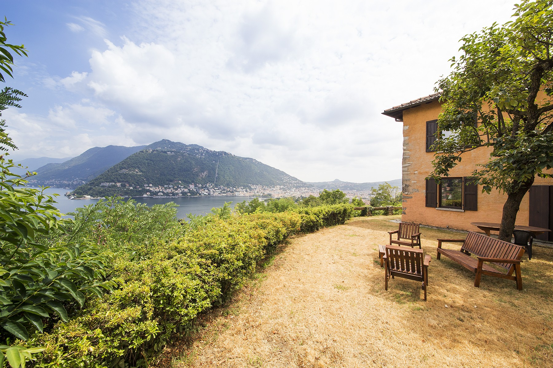 Single Family Home for Sale at Charming villa on the hills of Como with breath-taking views Via Imbonati Como, 22100 Italy