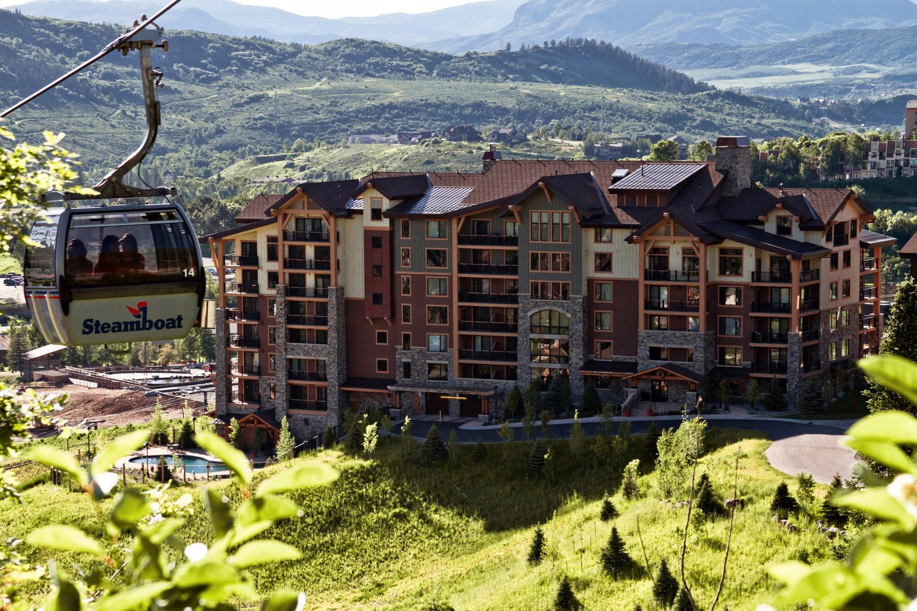 Copropriété pour l Vente à Edgemont 2410 Ski Trail Lane #2802 Steamboat Springs, Colorado 80487 États-Unis