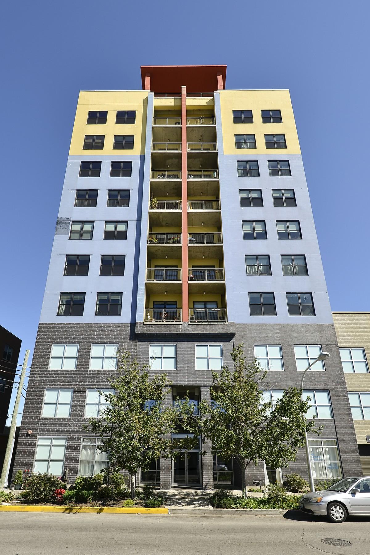 Appartement en copropriété pour l Vente à Edgewater Penthouse Modern Loft 1122 W Catalpa Avenue Unit 1002 Chicago, Illinois, 60640 États-Unis