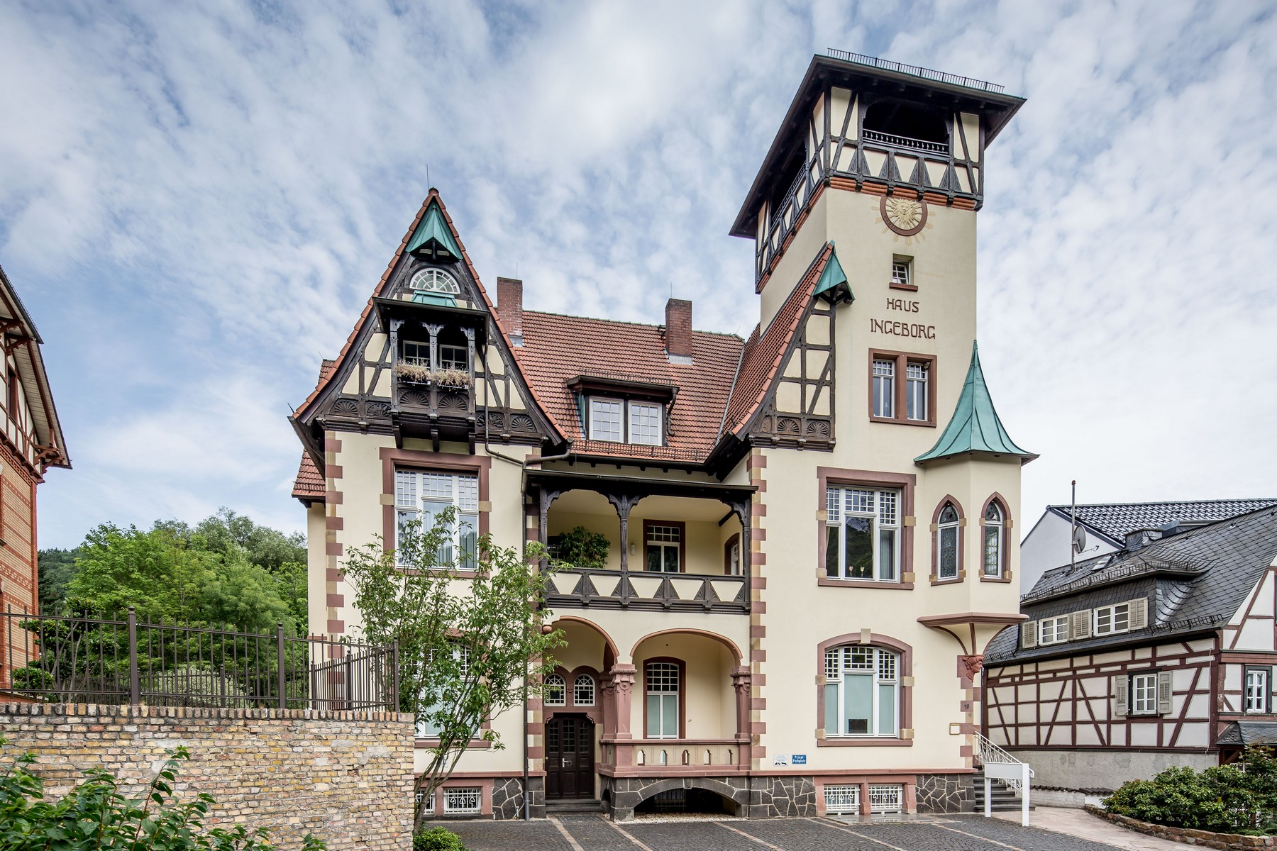 Apartment for Sale at Schlangenbad: Charming Top-floor Apartment in great historic building Other Hessen, Hessen, 65388 Germany
