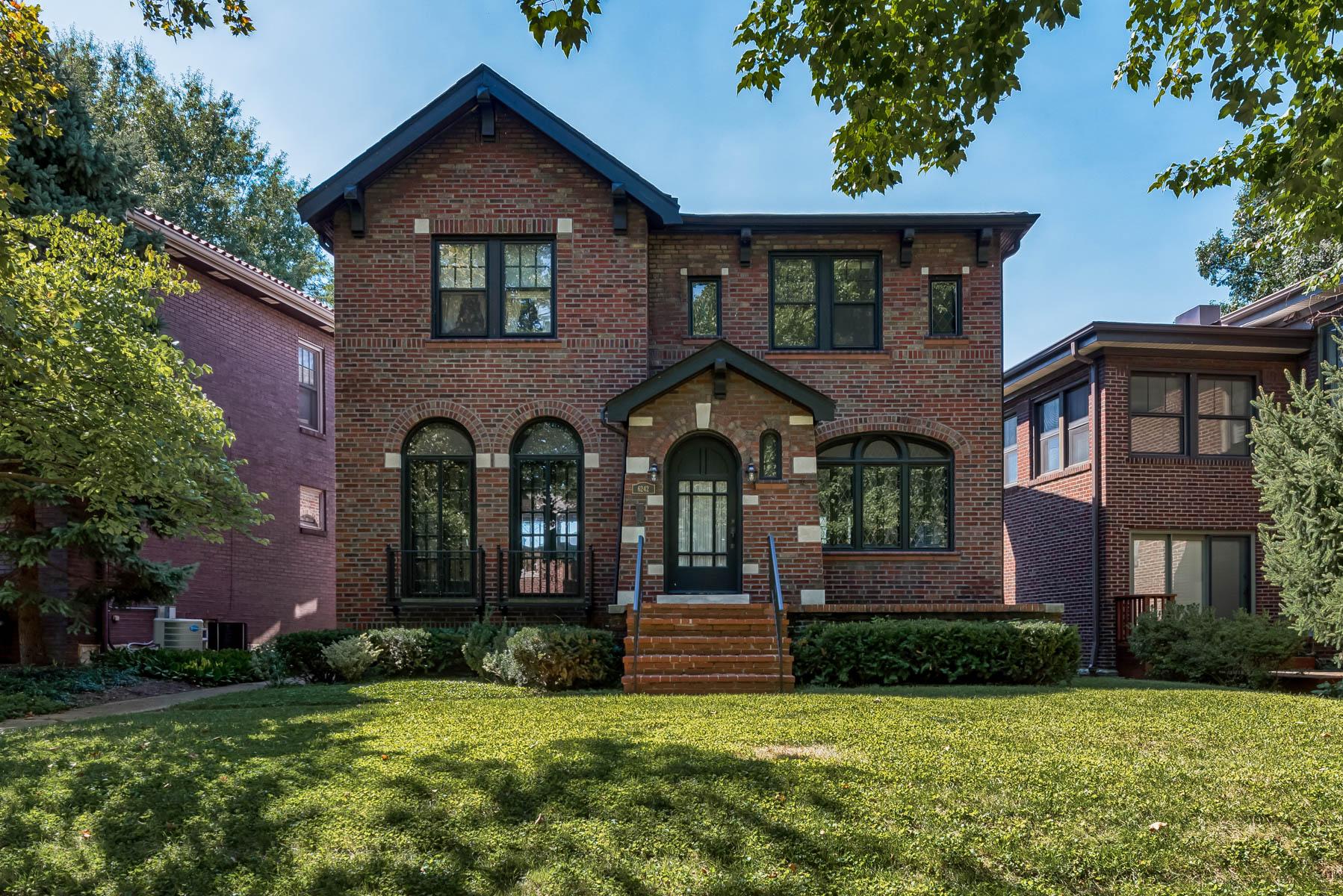 Maison unifamiliale pour l Vente à Alamo Ave 6242 Alamo Ave St. Louis, Missouri, 63105 États-Unis