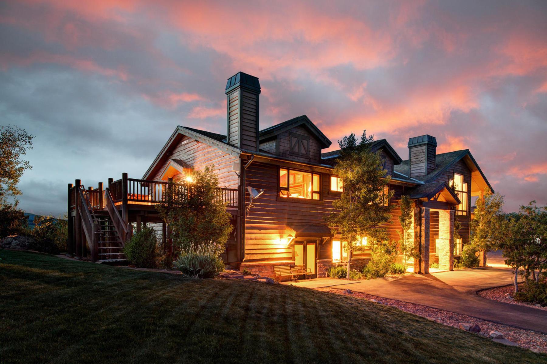 獨棟家庭住宅 為 出售 在 Breathtaking Panoramic Views 1317 E Tollgate Rd Park City, 猶他州 84098 美國