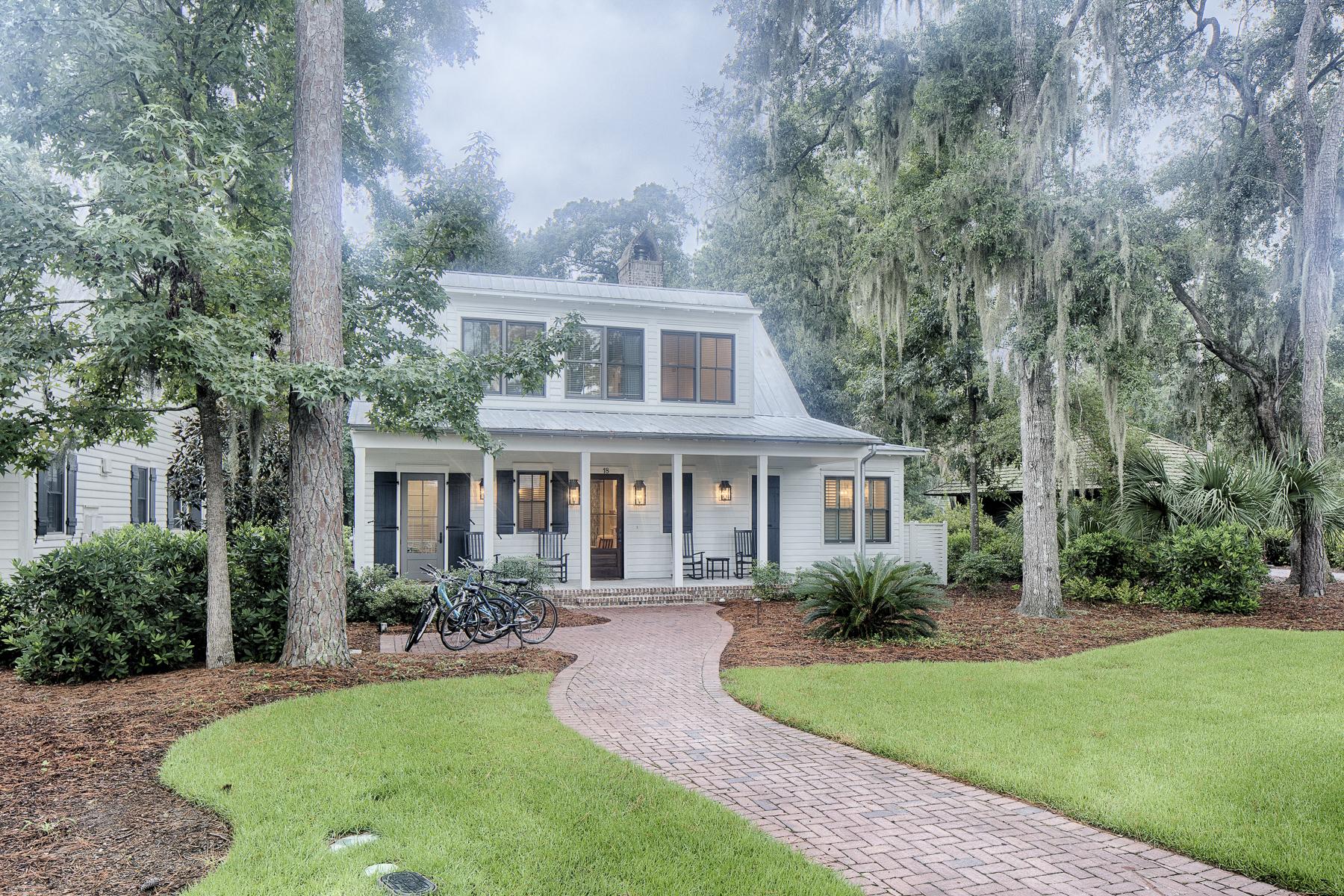 Casa para uma família para Venda às Palmetto Bluff 18 Westerwald Street Palmetto Bluff, Bluffton, Carolina Do Sul, 29910 Estados Unidos