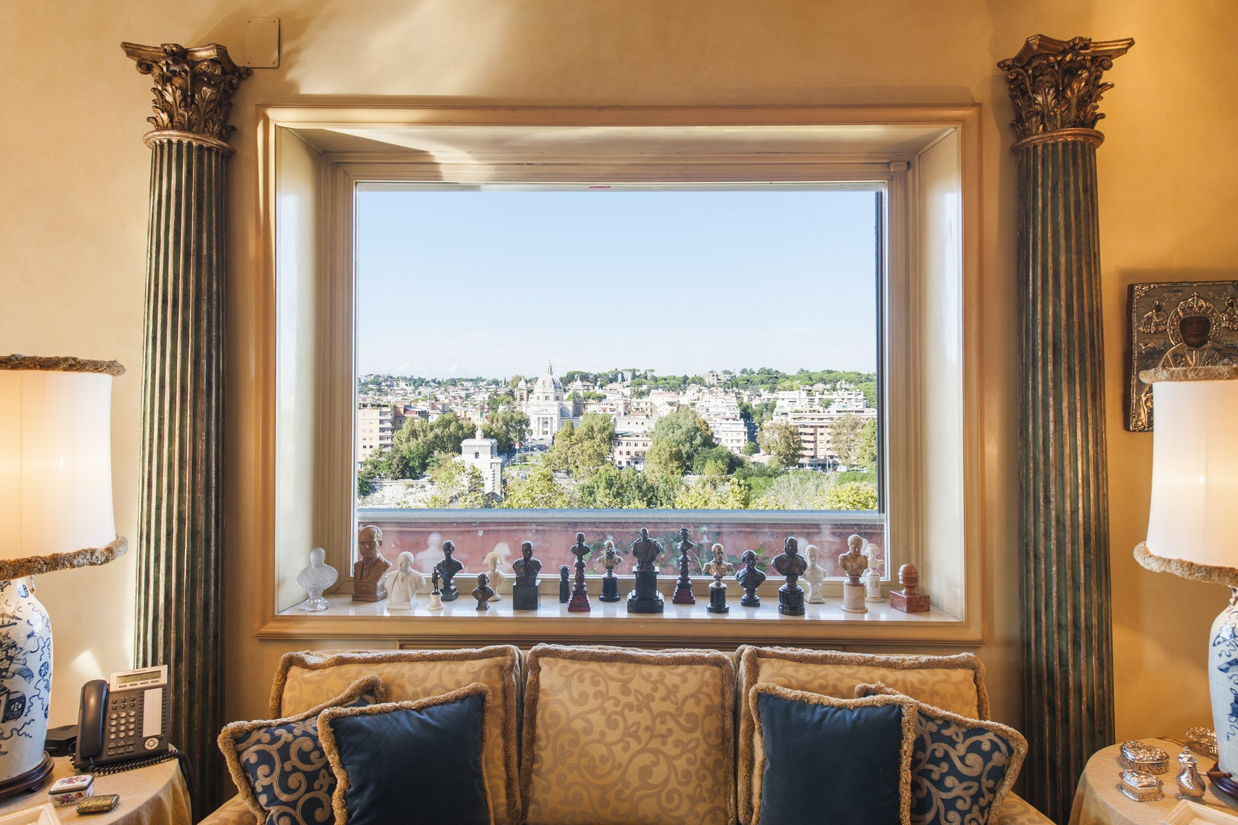 Apartment for Sale at Magnificient penthouse with stunning view on Ponte Milvio Piazza Cardinal Consalvi Rome, Rome 00195 Italy