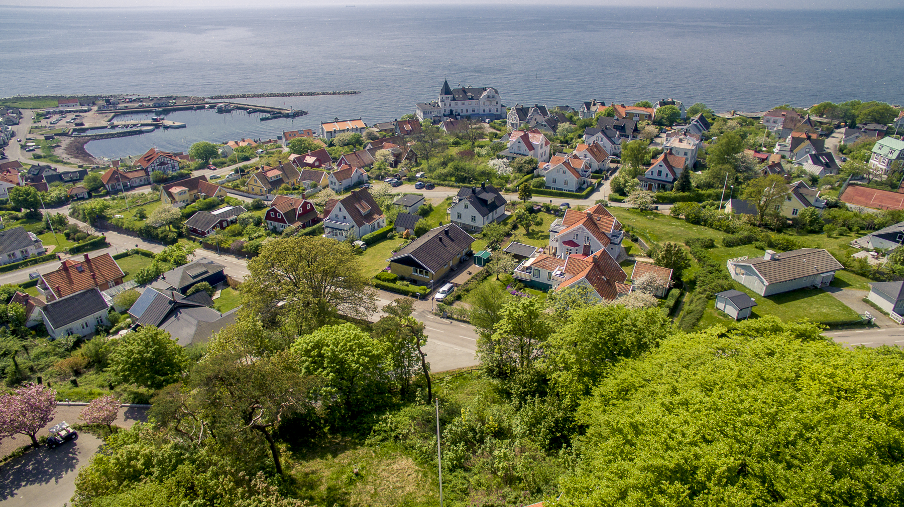 Земля для того Продажа на Overlooking the harbor and the sea Kullabergsvägen Other Skane, Skane, 26042 Швеция
