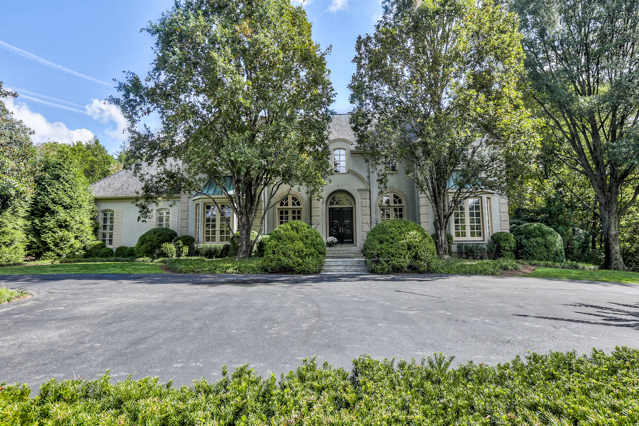 Single Family Home for Sale at Custom European Inspired Estate 5906 Hillsboro Pike Nashville, Tennessee, 37215 United States