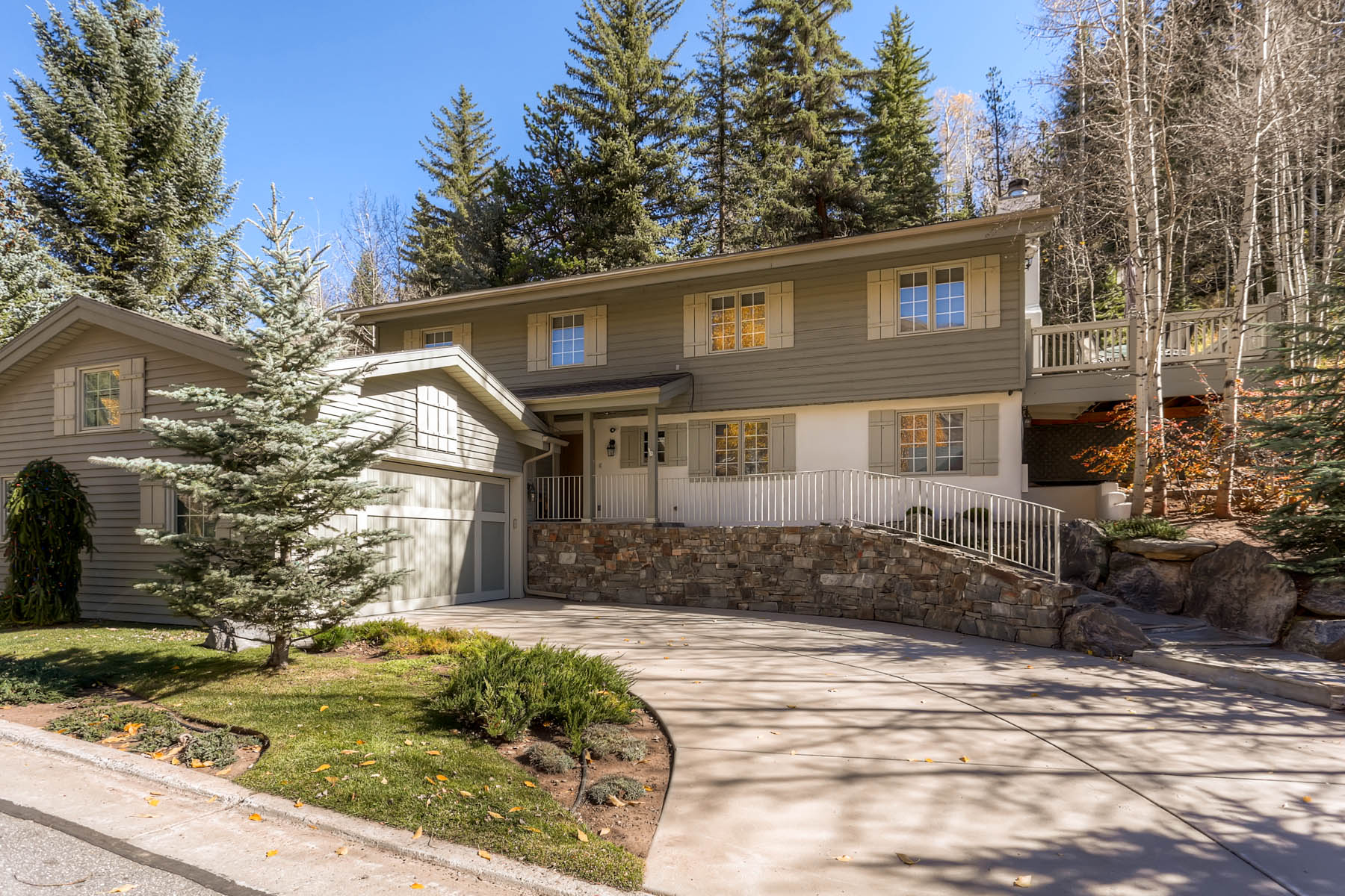 Single Family Home for Sale at Incredible West Vail Location 1868 W. Gore Creek Dr Vail, Colorado 81657 United States