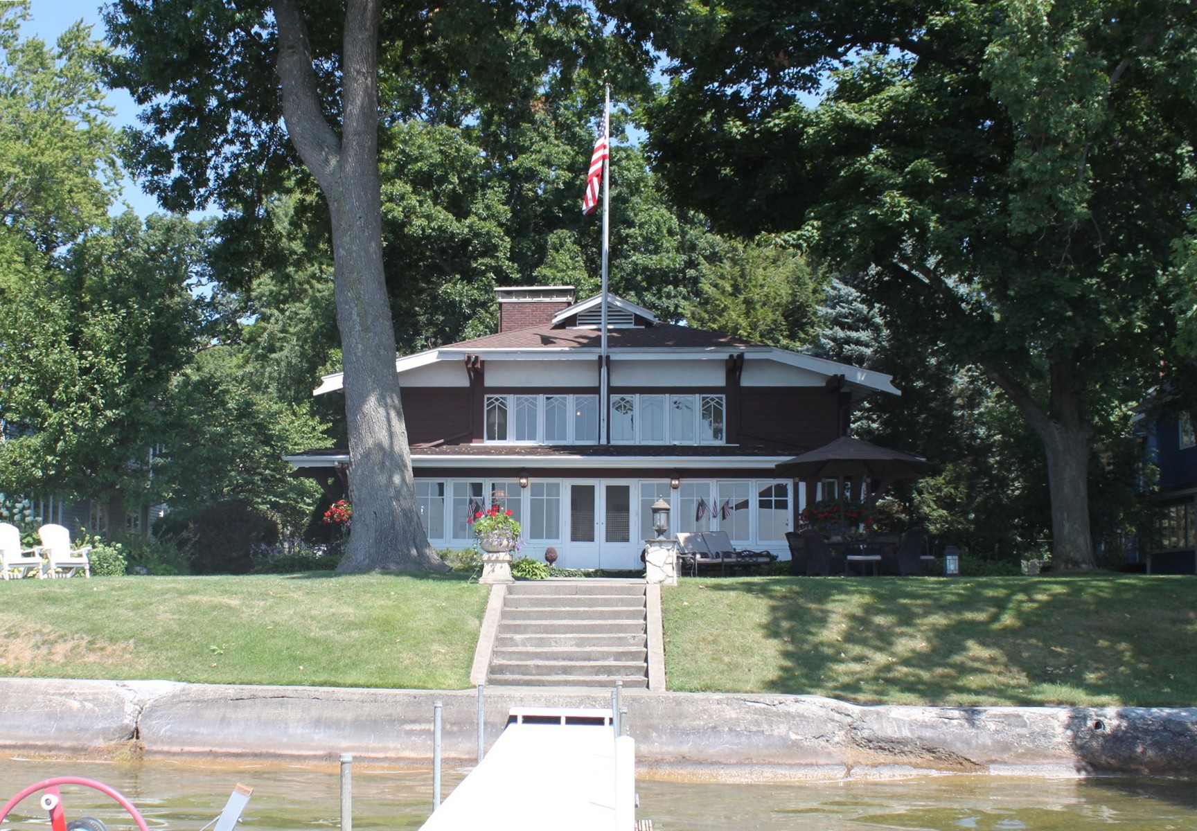 sales property at Historical Lake Wawasee Property