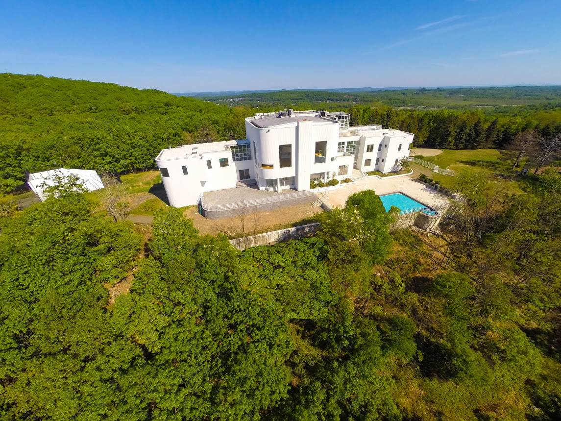 Single Family Home for Sale at Sleek Contemporary on Mountain 6 France Drive Pomona, New York 10970 United States