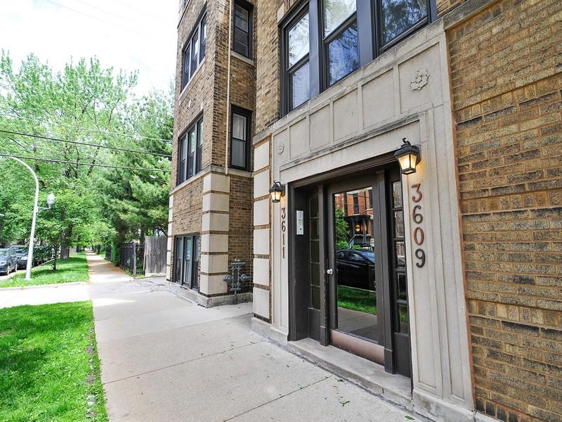 Кооперативная квартира для того Продажа на Impressive Renovated Condo 3609 North Bosworth Avenue Unit 3 Lakeview, Chicago, Иллинойс 60613 Соединенные Штаты