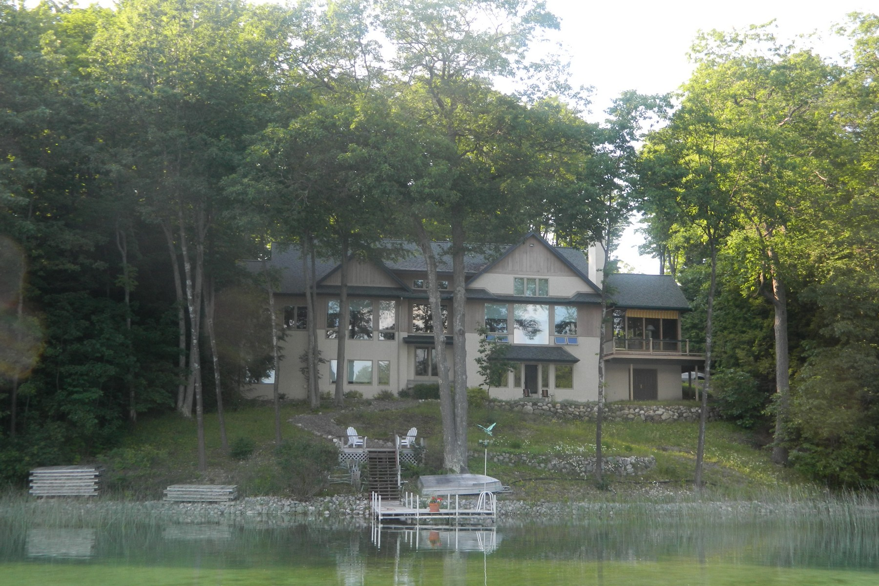 Property For Sale at O'Rourke Lake Property Location: South of Gaylord