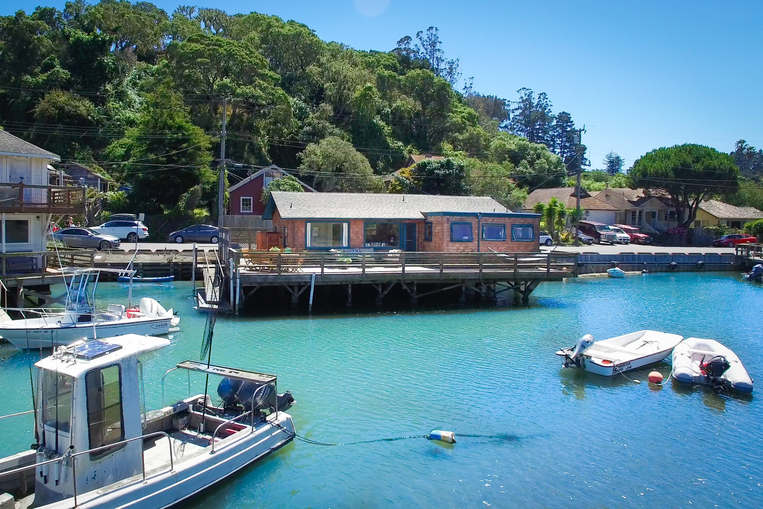 Single Family Home for Sale at Bolinas on the Water 79 Wharf Road Bolinas, California, 94924 United States