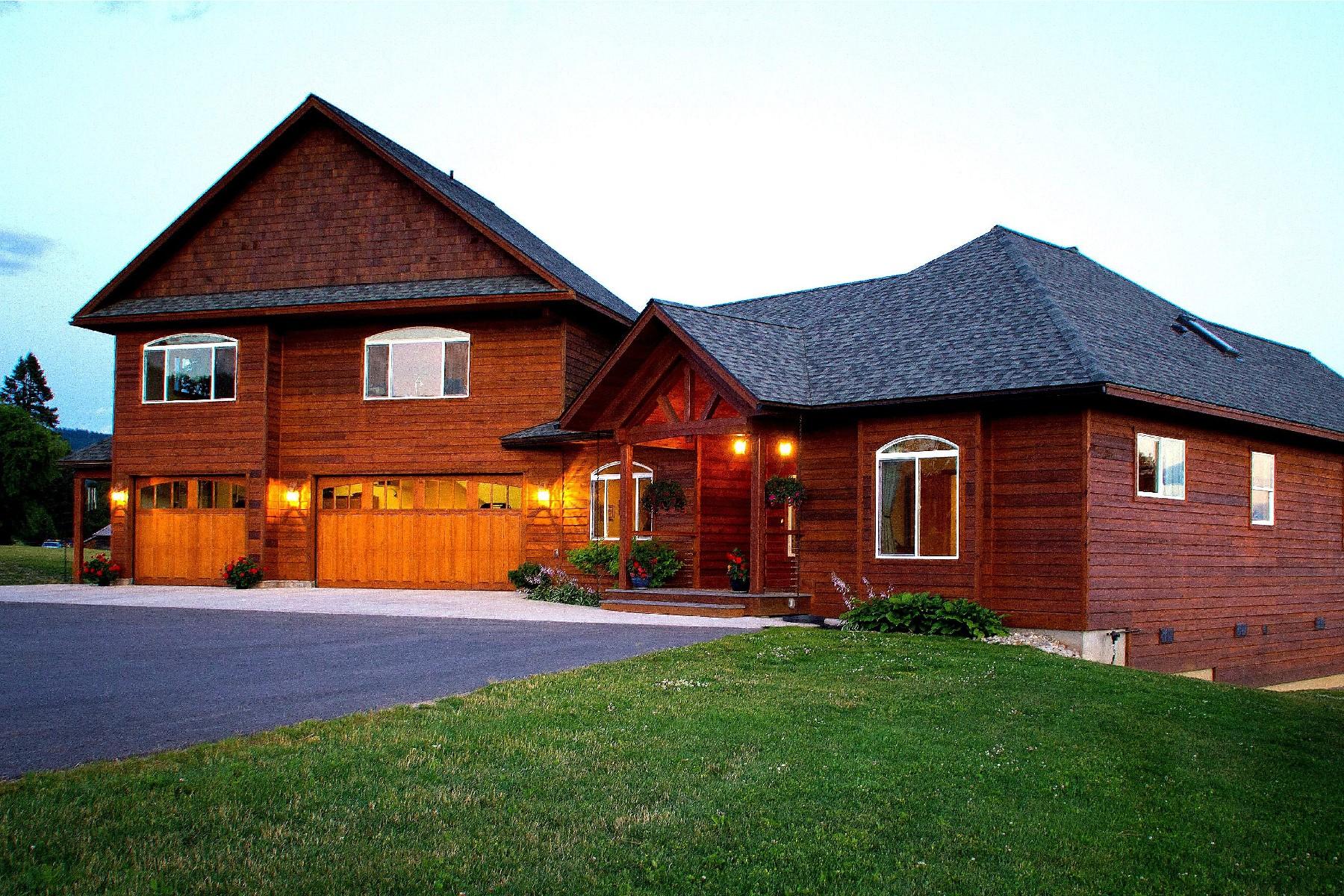 Einfamilienhaus für Verkauf beim One With Nature 71 River Run Drive Laclede, Idaho 83841 Vereinigte Staaten