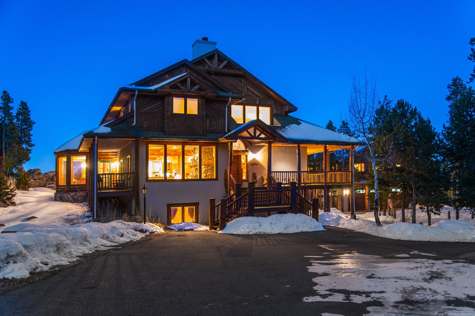 Einfamilienhaus für Verkauf beim Colorado Character 9101 Mountain Ranch Road Conifer, Colorado 80433 Vereinigte Staaten