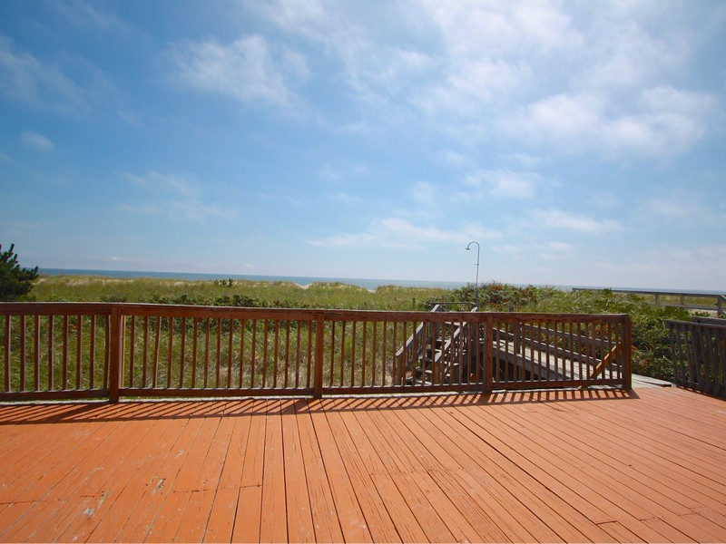 Single Family Home for Sale at Oceanfront; WHB Village with ROW to the Bay 517 Dune Road Westhampton Beach, New York 11978 United States