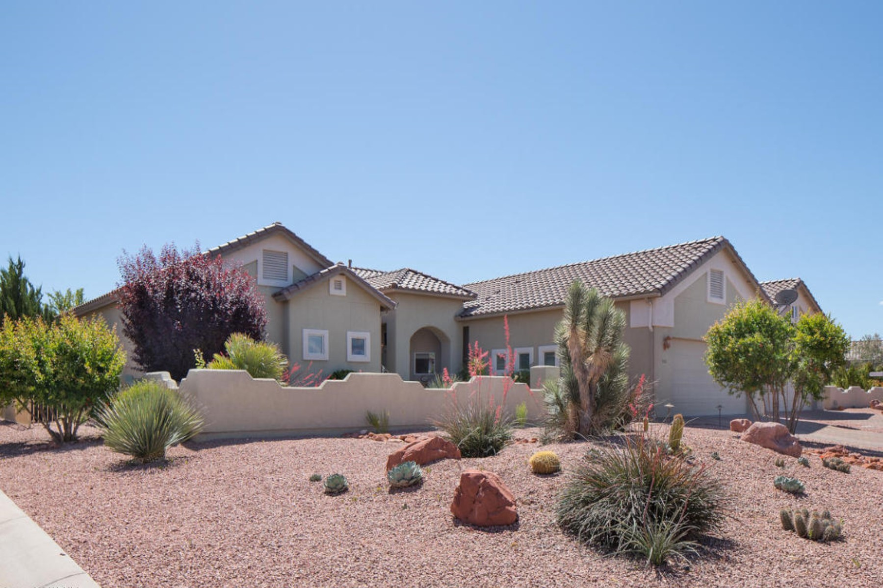 Property For Sale at Lovely Tuscan Style home on large corner lot