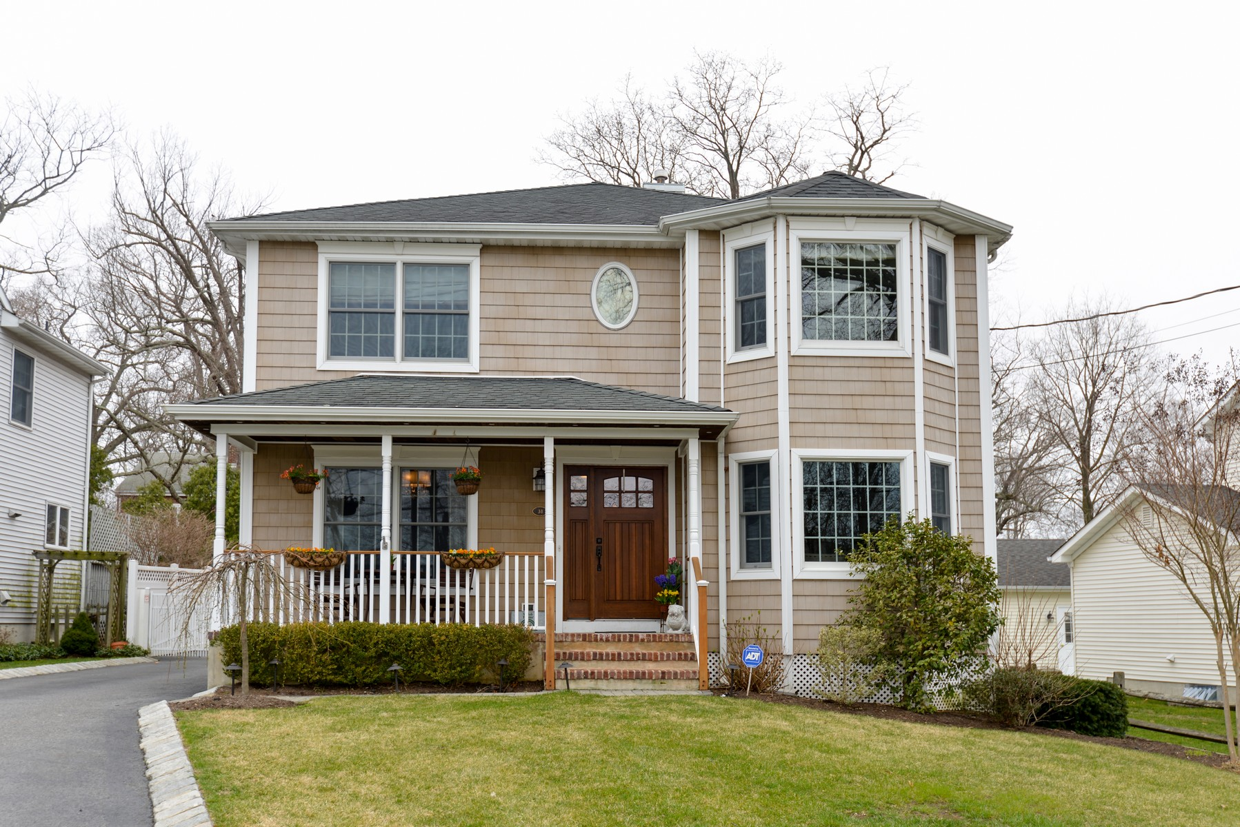 Single Family Home for Sale at Warm Welcoming Colonial 38 Avenue of Two Rivers Rumson, New Jersey, 07760 United States