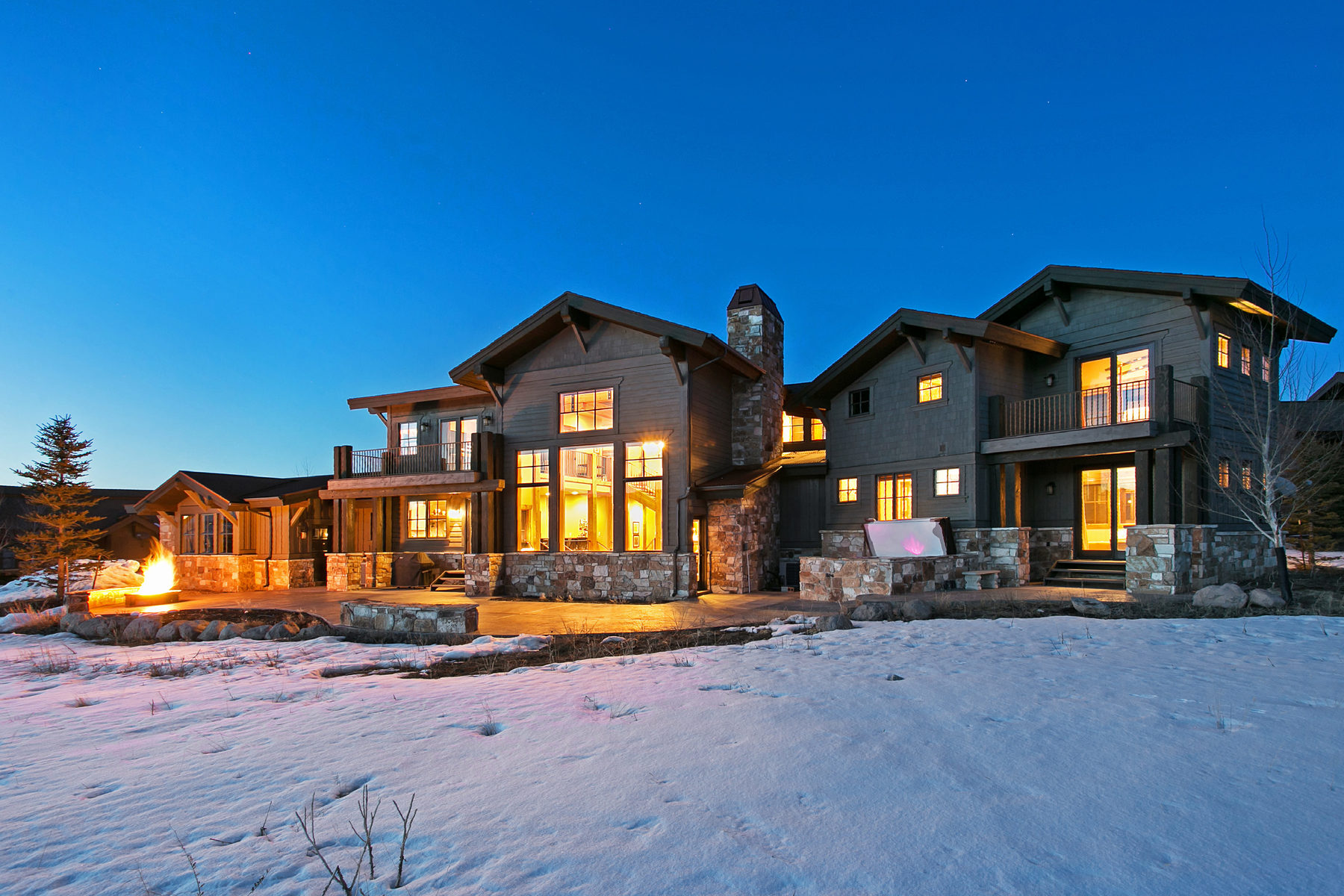 Maison unifamiliale pour l Vente à Panoramic Ski Views in Promontory 2382 Palomino Trl Park City, Utah, 84098 États-Unis