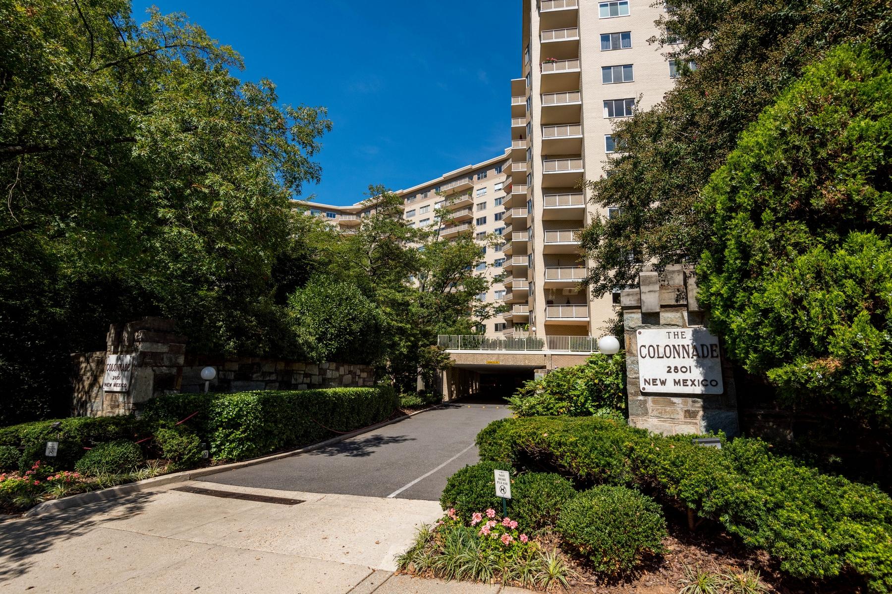 Condominio per Vendita alle ore The Luxurious Colonnade Condominium 2801 New Mexico Ave NW #508 Washington, Distretto Di Columbia 20007 Stati Uniti