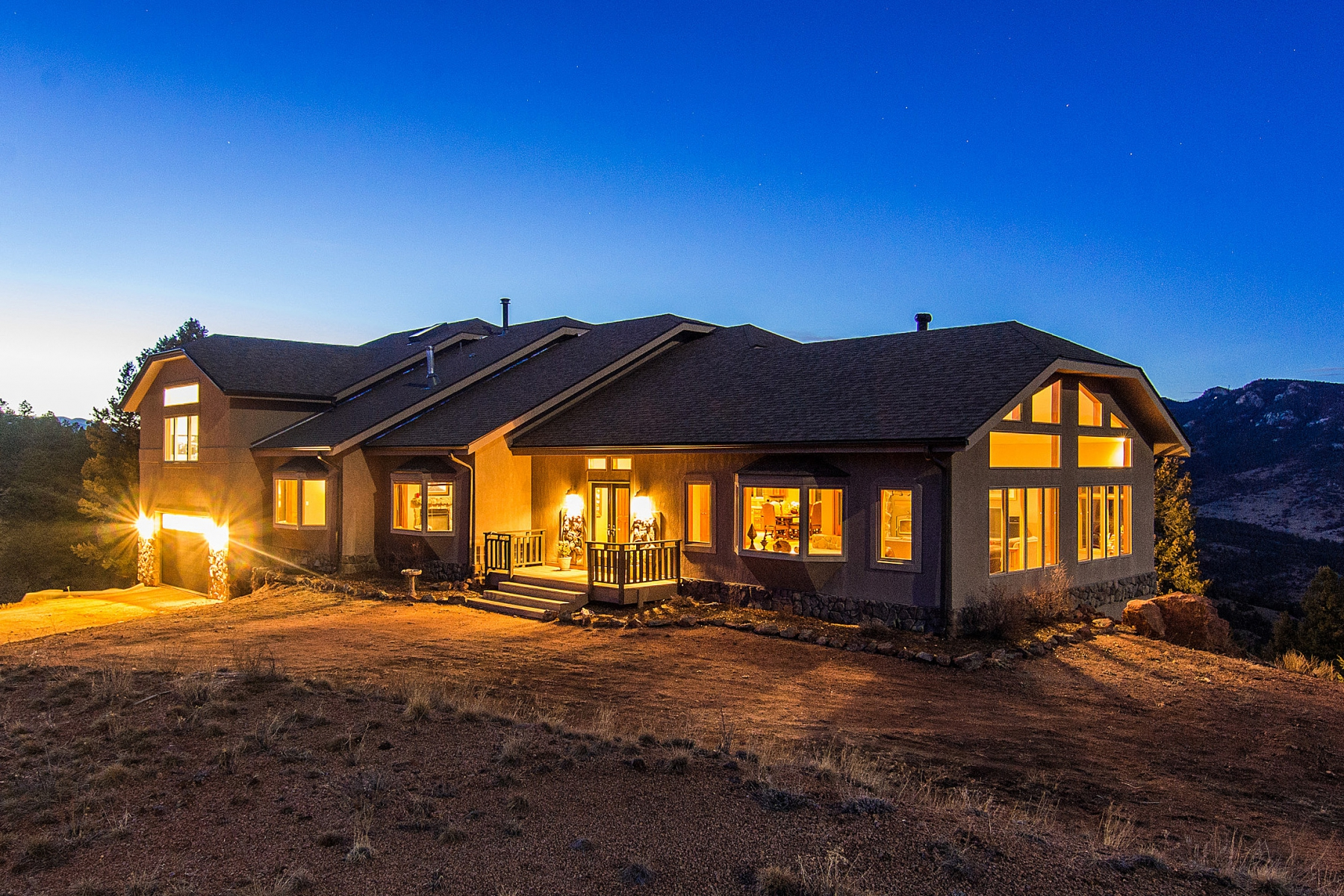 Single Family Home for Sale at Top of the World Views 15854 Cathedral Trail Conifer, Colorado 80433 United States