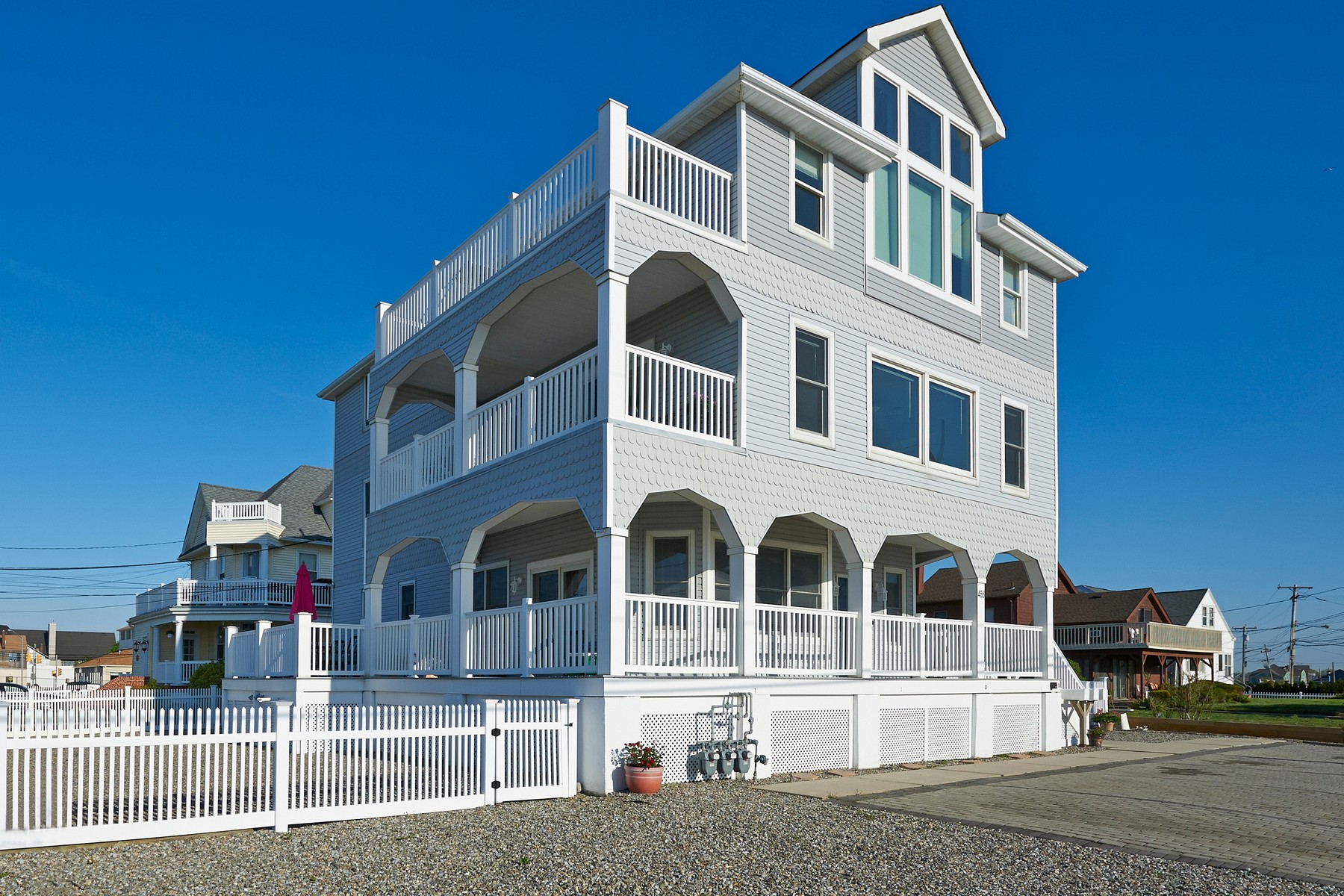 Single Family Home for Sale at Awesome Oceanfront! 456 Ocean Ave Long Branch, New Jersey 07740 United States