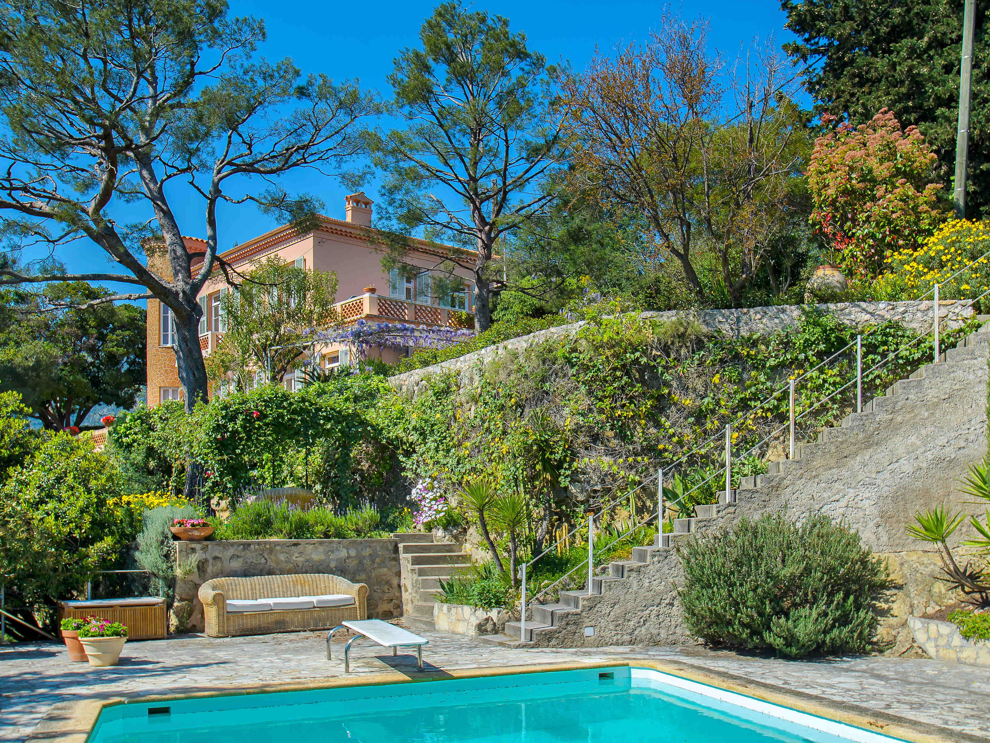 Other Residential for Sale at Charming villa with sea views for sale in Menton, French Riviera Other Provence-Alpes-Cote D'Azur, Provence-Alpes-Cote D'Azur 06500 France