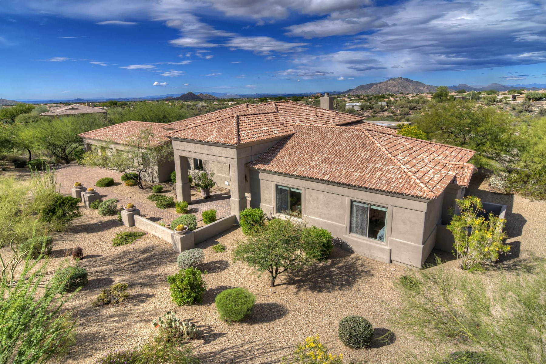 Property For Sale at Perched above a huge arroyo on a 1.8 acre parcel