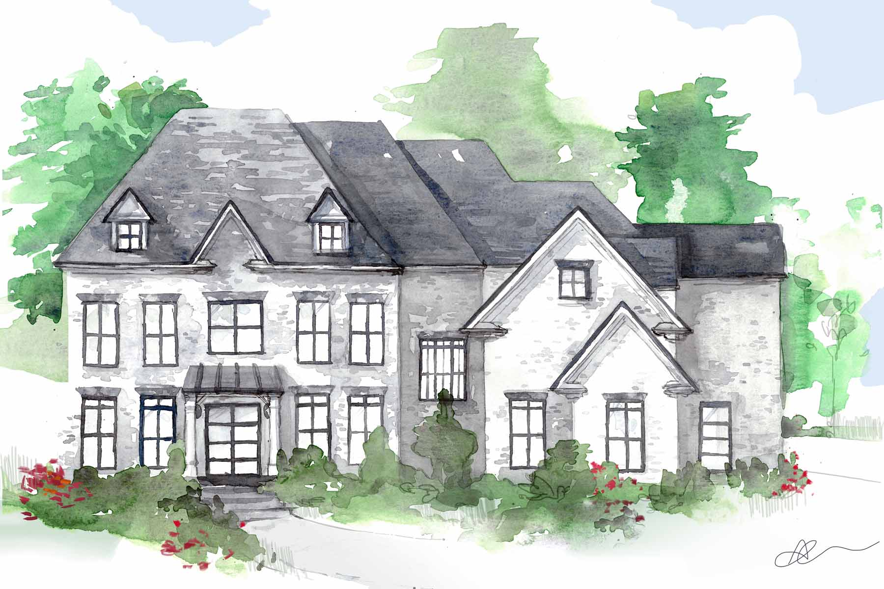 sales property at Beautiful New Build Near Chastain